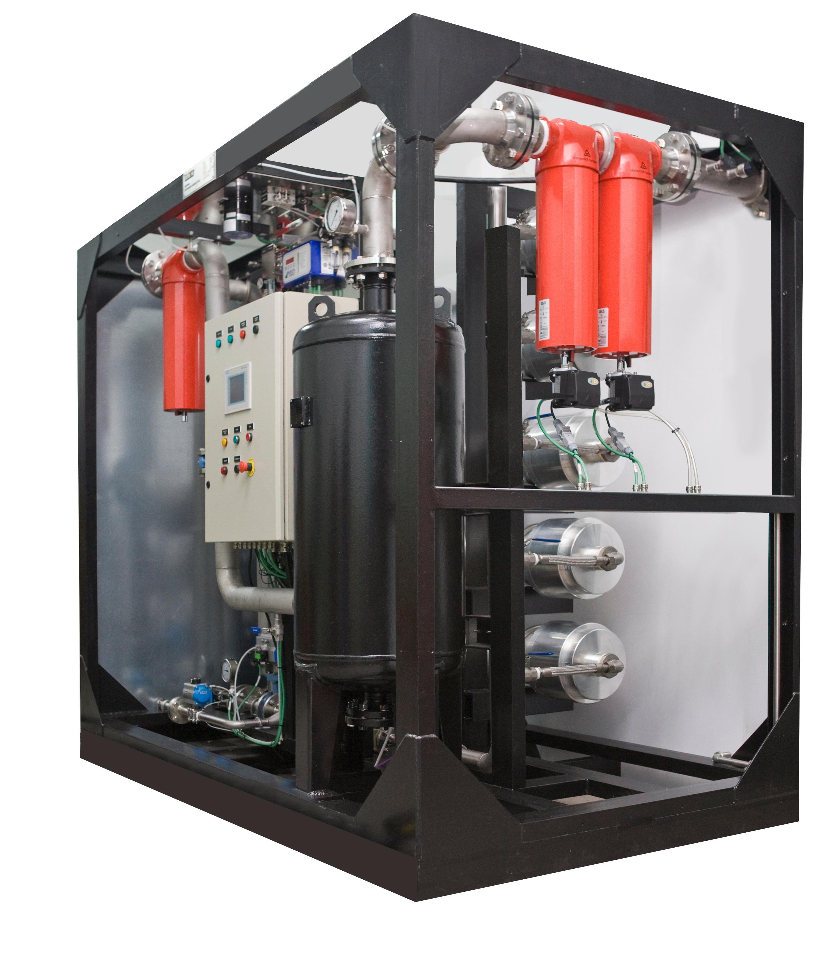 Gaz jeneratörü: cihaz, tipleri, avantajları
